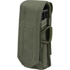 Подсумок для магазина пистолета (с клапаном) (WARTECH) (Olive)