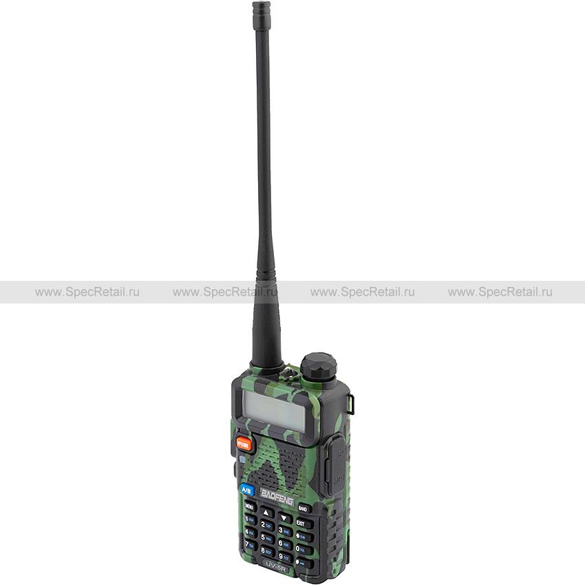 Радиостанция Baofeng UV-5R, двухдиапазонная (5 Вт) (Камуфляж)