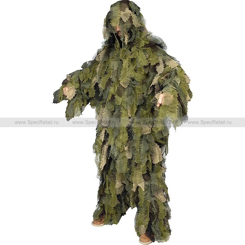 """Костюм маскировочный """"Oak Leaf 3D"""" (Mil-Tec) (Woodland)"""