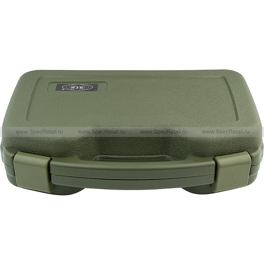 Пластиковый кейс для оружия, 34х27х8.7 см (Olive)