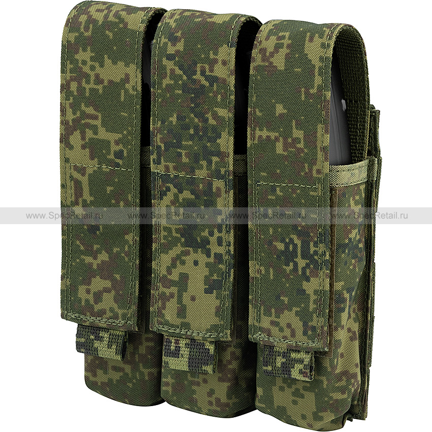 Тройной подсумок под магазины MP5/Витязь (Ars Arma) (Цифра РФ)