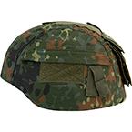 Универсальный чехол для шлема, с карманом (Flecktarn)
