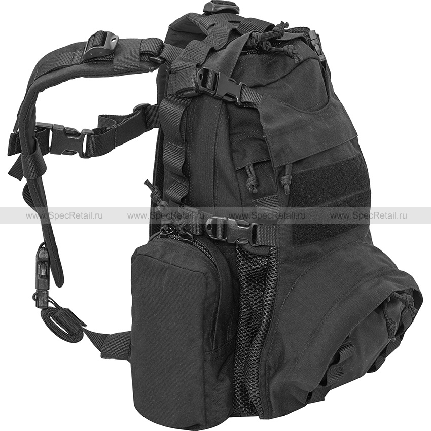 Рюкзак штурмовой AA-Eagle Beaver Tail Assault Pack/YOTE (Ars Arma) (Black)