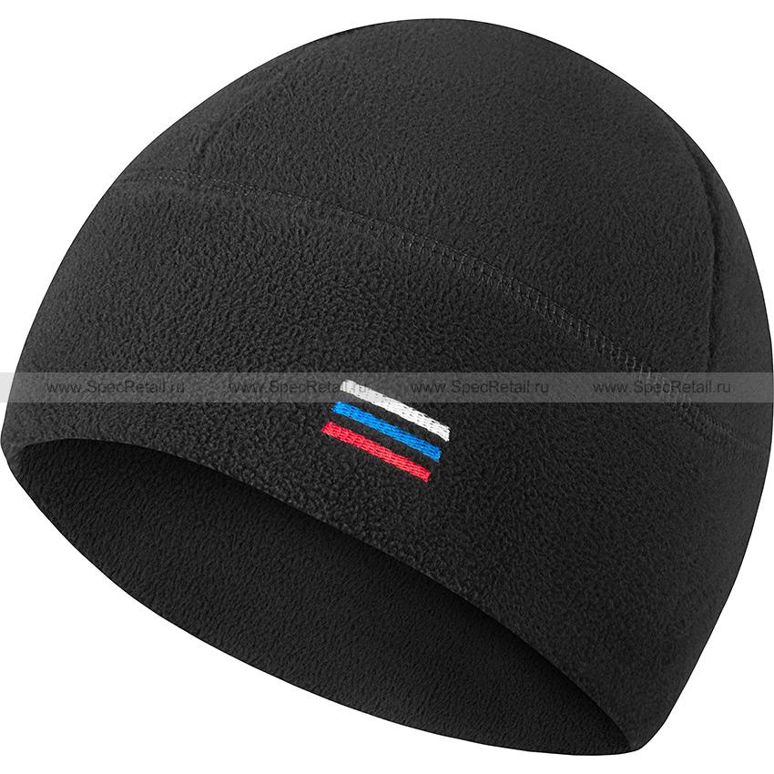 Шапка флисовая (Stich Profi) (Black)