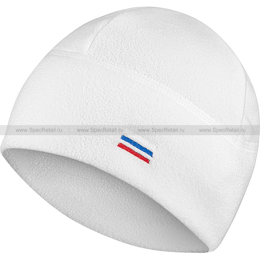 Шапка флисовая (Stich Profi) (White)