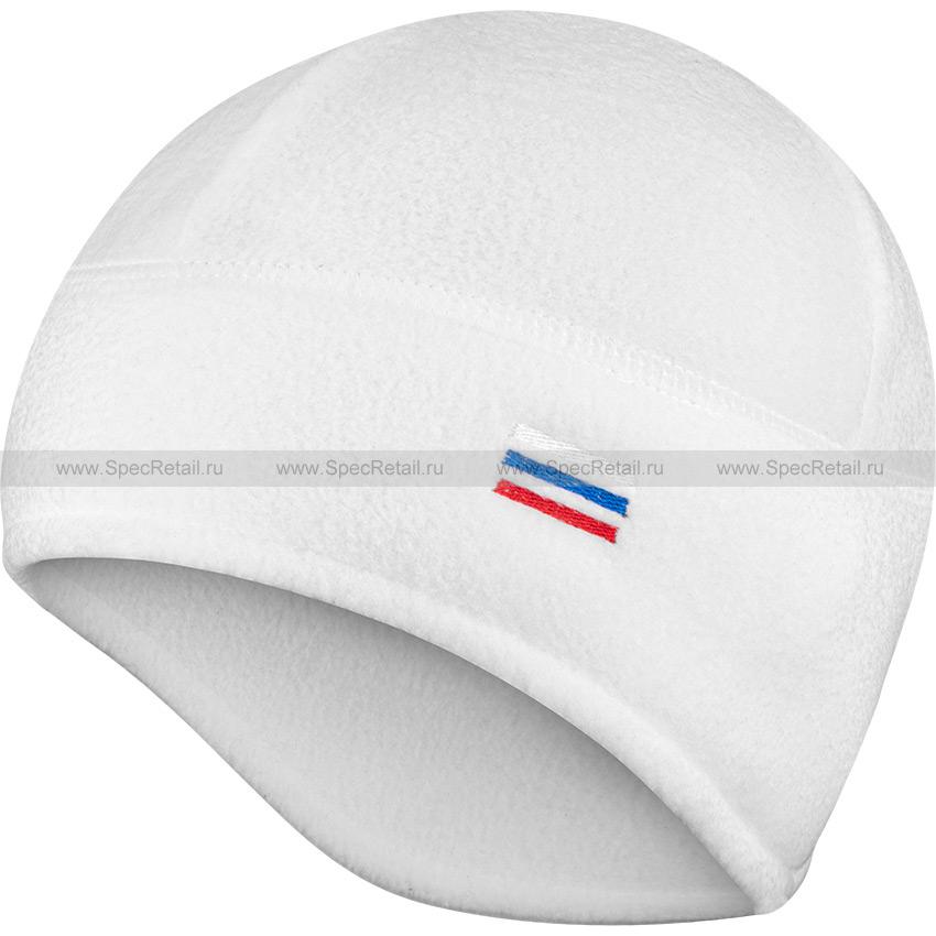 Шапка флисовая, с увеличенной зоной ушей (Stich Profi) (White)
