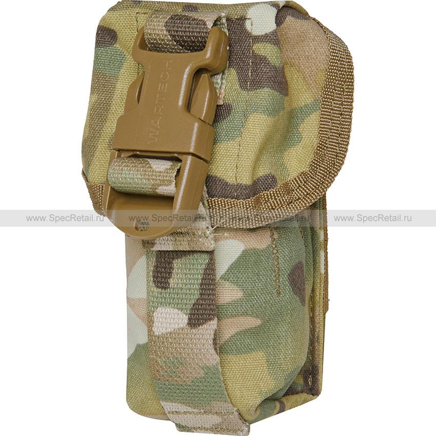 Подсумок гранатный под РГД/РГО, фастекс (WARTECH) (Multicam)